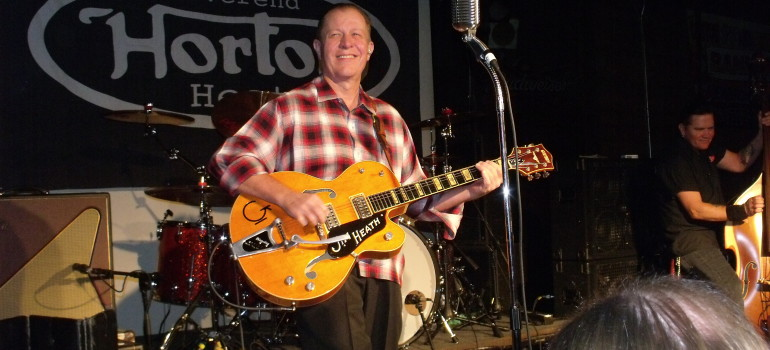 Jim Heath, Better known as Reverend Horton Heat