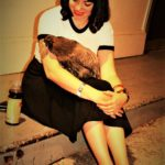 Just a girl and her Chicken,Little Sheba