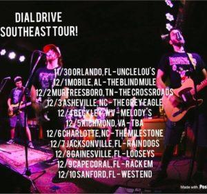 dial drive tour
